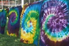 YMT tie dye slider