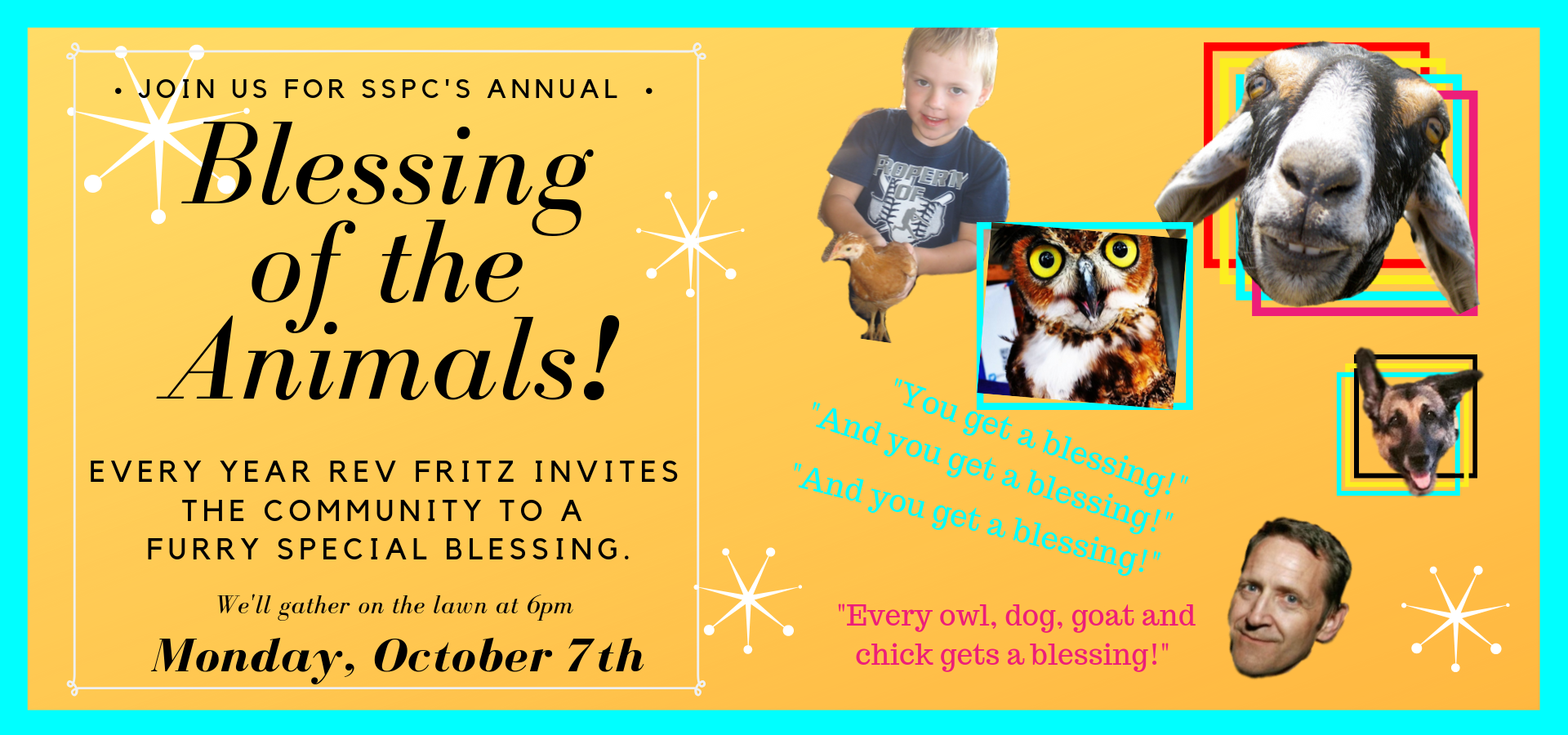 Copy of Blessing of The Animals (1)